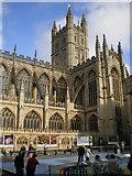 ST7564 : Bath Abbey, south side by Richard Law