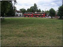 TQ2374 : Putney Heath Bus Terminus by Shaun Ferguson