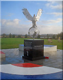 SK1814 : The Royal Air Forces Association Memorial - 1 by Trevor Rickard