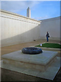 SK1814 : Names plinth at the Armed Forces Memorial by Trevor Rickard