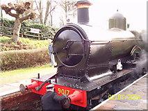 TQ4023 : Train at Sheffield Park Railway Station by John Driscoll
