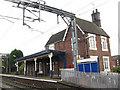 SJ8055 : Alsager station buildings by Stephen Craven
