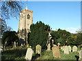 TF4108 : Forgotten graves in the autumn sun by Richard Humphrey