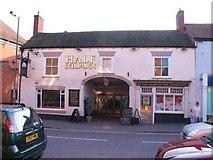 SE8741 : The Half Moon, Market Weighton by Gordon Hatton