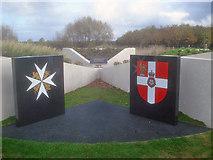 SK1814 : St John Ambulance Memorial Garden by Trevor Rickard
