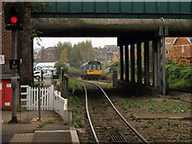 SX9192 : Exmouth Train arrives at Exeter Central Station by Tim Marshall