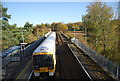 TQ6850 : Train at Yalding Station by N Chadwick