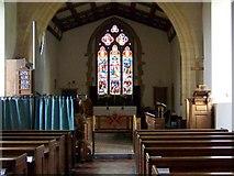 ST5707 : Church interior, St Osmonds Church by Maigheach-gheal