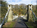 NZ1014 : Whorlton Suspension Bridge by Chris Heaton