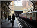 TQ2681 : Paddington tube station, Circle and District Line platforms by Oxyman