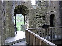 SK1482 : Interior Peveril Castle Keep by John Proctor