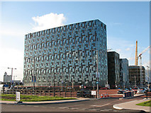 TQ3979 : New office blocks adjacent to the O2 by Stephen Craven