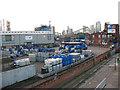 TQ3979 : Brenntag distribution centre, East Greenwich by Stephen Craven