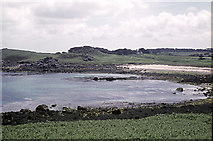 SV9210 : Porth Hellick in 1972 by John Rostron
