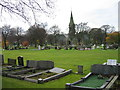 NZ3063 : Hebburn Cemetery by Les Hull