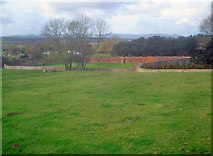 SO9338 : Walled Garden at Norton Park by Trevor Rickard