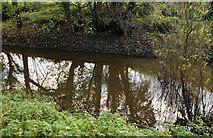 J3267 : Disused Lagan canal near Edenderry by Albert Bridge