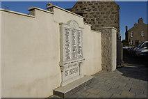 NJ9505 : Footdee War Memorial by Bill Harrison