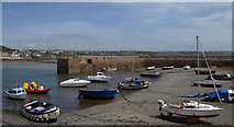 SW5130 : The Harbour, St Michaels Mount by Tim Marshall