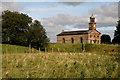 NY3971 : St Andrew's Church at Kirkandrews-upon-Esk by Walter Baxter