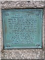 SP0997 : One of two Plaques on Jamboree Stone Sutton Park by John Proctor