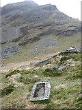 SH6544 : Moelwyn Mawr from the Moelwyn Bach trough by David Medcalf
