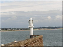 SW4730 : Lighthouse in Penzance by Amanda King