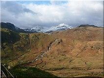 SH6554 : The northern side of Nant Gwynant by Christine Johnstone