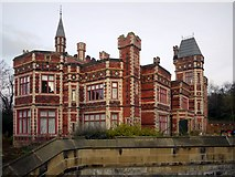 NZ2560 : Saltwell Towers by Andrew Curtis