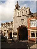 SU3521 : Romsey - Abbey United Reformed Church by Chris Talbot