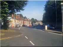 SK5063 : Main road at Pleasleyhill by Trevor Rickard