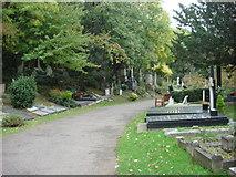 TQ2886 : Highgate Cemetery by Oxyman