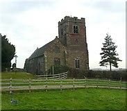 SK1716 : St Leonard's Church, Wychnor by Humphrey Bolton