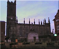 SD9205 : Oldham Parish Church by Gerald England