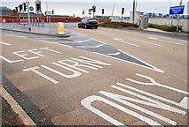 J3373 : The Westlink, Belfast (5) by Albert Bridge