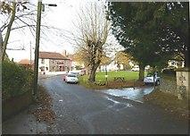 TR2647 : The Bell Inn and Village Green by John Baker