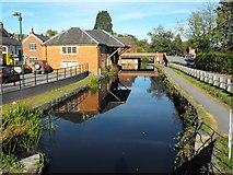 SJ2207 : Powysland Museum and Severn Street Bridge, Welshpool by Penny Mayes