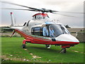 NY9173 : Elwood H.L.S. ( Heliport  ) Barrasford by Elwood
