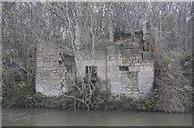 SE2436 : Ruined Building at Newlay by Richard Kay