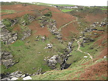 SX0789 : Rocky Valley by Philip Halling