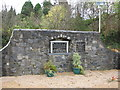 G6615 : Memorial wall, Ballymote Castle by Willie Duffin