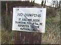 NS7975 : No dumping by Richard Webb