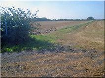 SK4863 : Public footpath to Teversal by Trevor Rickard