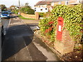 SY9285 : Stoborough: postbox № BH20 200, Corfe Road by Chris Downer
