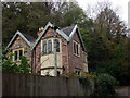 ST5574 : Lodge in Leigh Woods by ceridwen