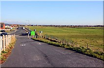SD3145 : Cycle track at Larkholme by Steve Daniels