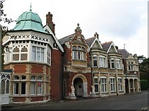 SP8633 : Bletchley Park Manor by Gerald Massey