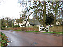 TM2384 : View across The Street towards the Old Rectory by Evelyn Simak