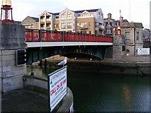 SY6778 : Weymouth Harbour Bridge by Gillian Thomas