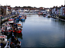 SY6778 : Weymouth Harbour by Gillian Thomas
